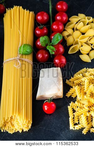 Italian Food Cooking Pasta Ingredients