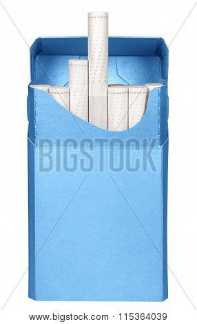 Cigarettes Box - Opened-light Blue
