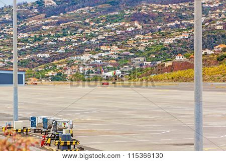 Airport Madeira - Airbus A318