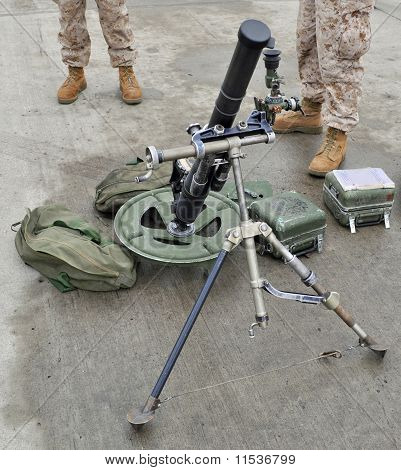 USMC 60mm Mortar