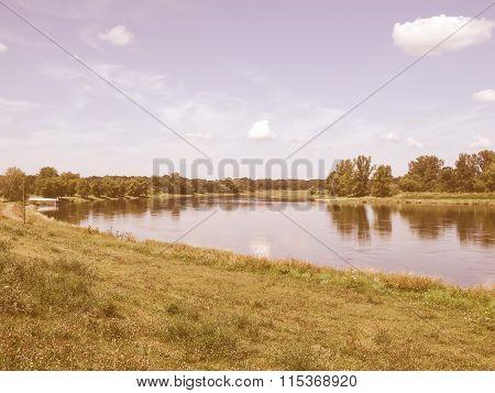 River Elbe Vintage