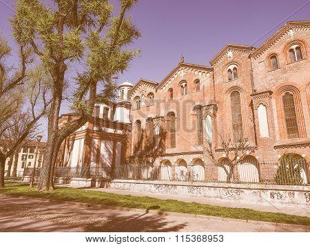 Sant Eustorgio Church Milan Vintage