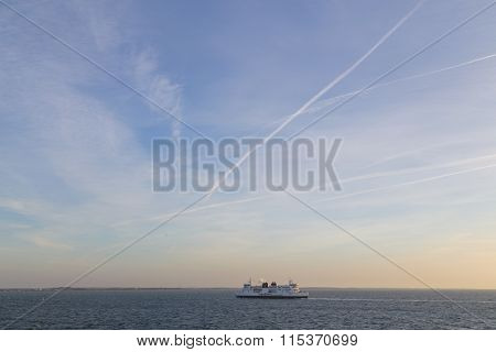 Ferry between Germany and Denmark