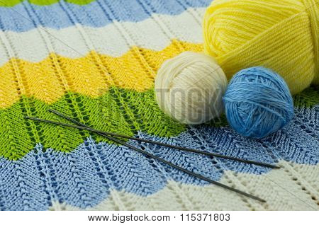 The Skeins Of Colorful Thread