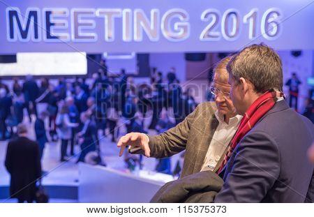 World Economic Forum In Davos (switzerland)