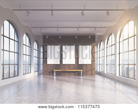 Empty Spacious Hall