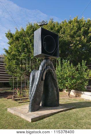 Miro Museum Garden Sculpture