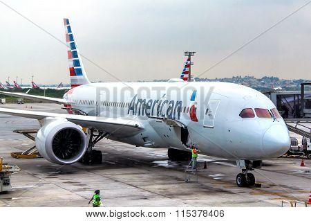 American Airlines Boeing 787-8 Dreamliner