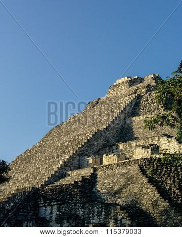 Ruins Of The Ancient Mayan City Of Becan, Mexico