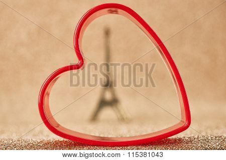 Valentines Day, Love. Heart.Macaron french dessert