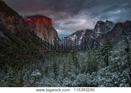 Tunnel View Overlook, Yosemite National Park
