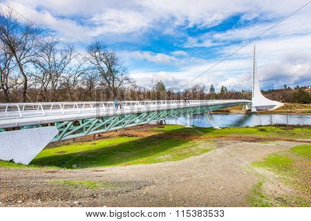 Sundial Bridge, California