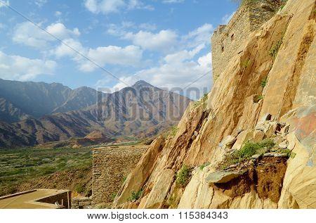 Thi Ain Village Al baha