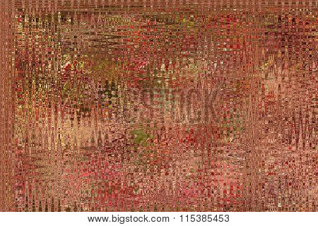 Abstract Brown Blured Texture With Light Strips