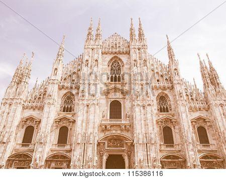 Duomo, Milan Vintage