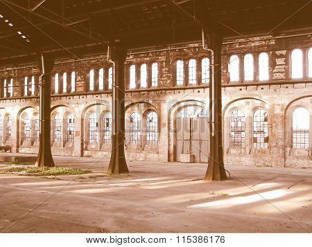 Abandoned Factory Vintage