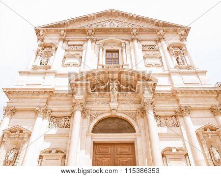 San Fedele Church, Milan Vintage