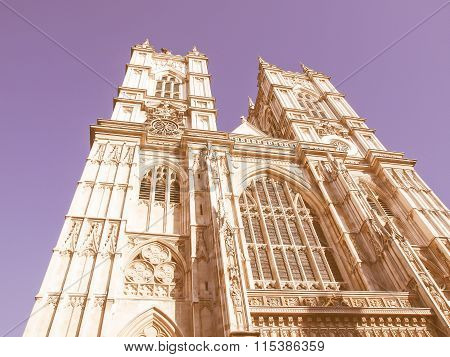 Westminster Abbey Vintage
