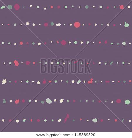 Seamless dot brush strokes pattern
