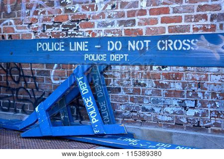 NYPD Police Line - Do Not Cross