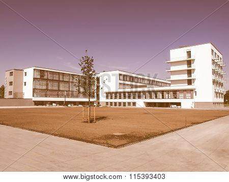 Bauhaus, Dessau Vintage