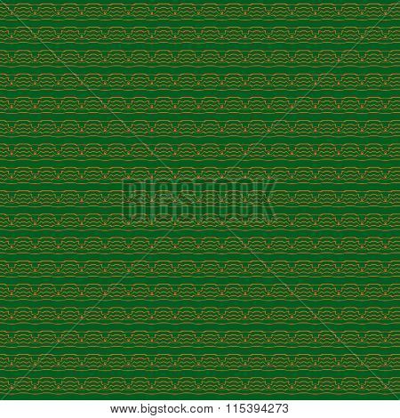 Abstract Seamless Background With Tribal Motive