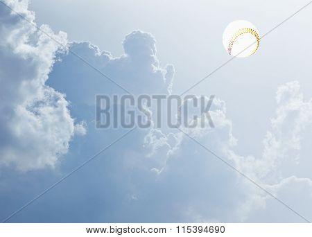 baseball as a sun