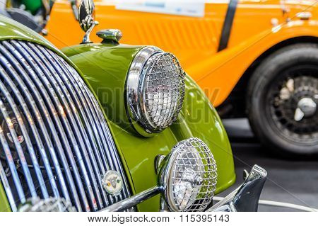 Bucharest, Romania - October 10, 2015: Romaero Baneasa.the Bucharest Automotive Show, Is One Of The