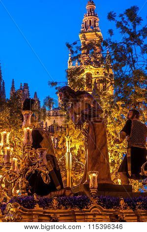 Holy week in Seville, Christ of 'Las Cigarreras' brotherhood