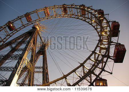 Ferris wheel in Vienna