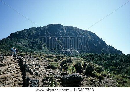 Top of Mount Hallasan
