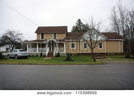 Brown Harbor Springs Home