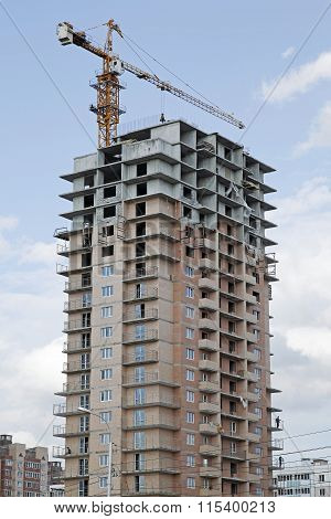 Construction residential building
