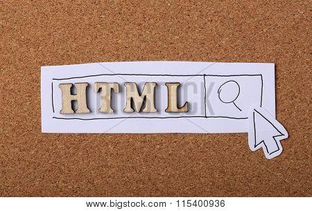 Html Concept Cork
