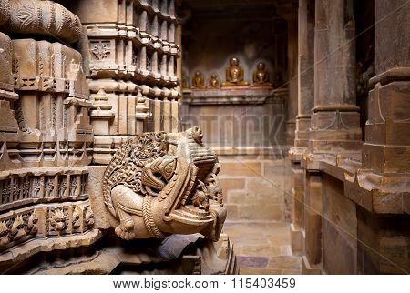 Jain Temples In Jaisalmer Fort