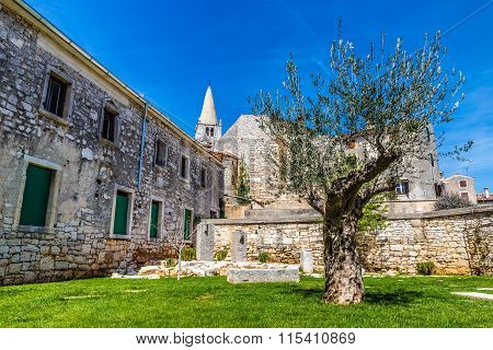Public Aark And Parish Church Tower-bale,croatia