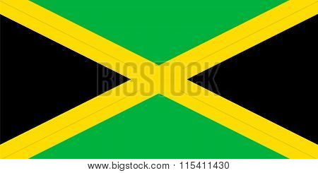 Standard Proportions For Jamaica Flag