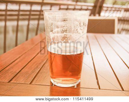 Beer Drink Vintage
