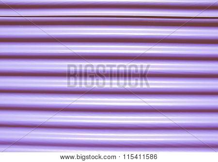 Retro Looking Corrugated Steel