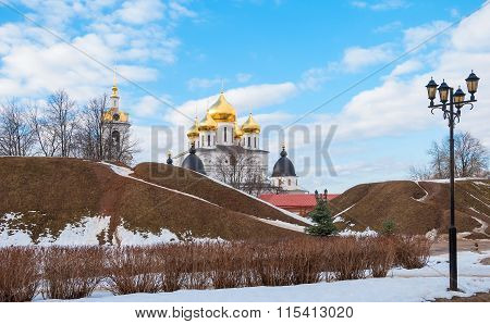 ancient Russian town of Dmitrov