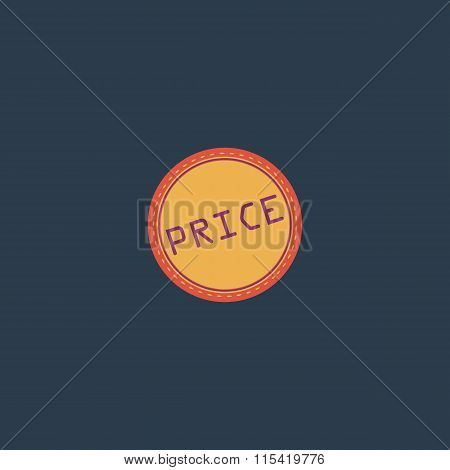 Price Icon, Badge, Label or Sticker
