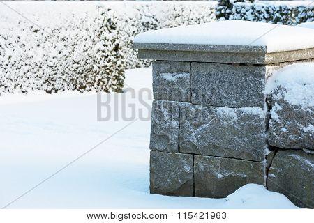 Cold Granite Corner