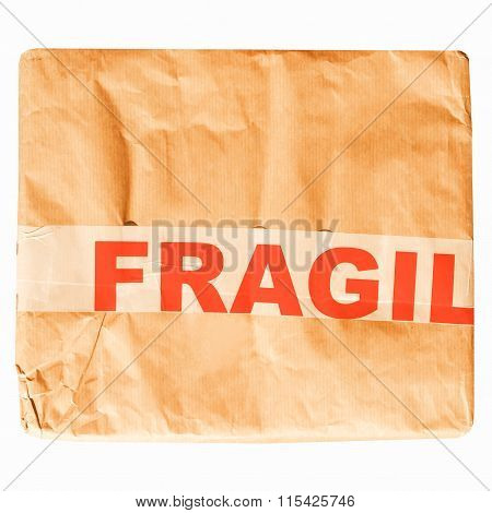 Fragile Picture Vintage