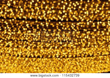 Yellow Christmas Lights
