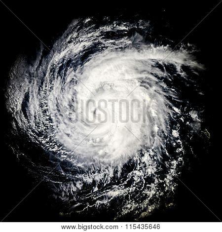 Global storm space vortex Miriam