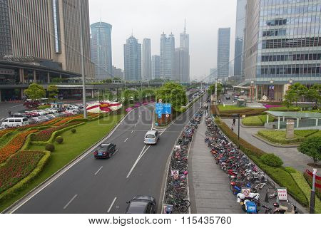 Shanghai, Business Center Of The City