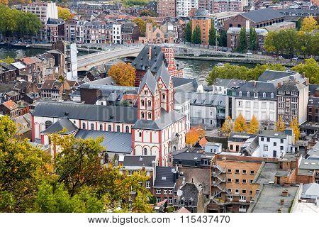 Liege Cityscape, Belgium
