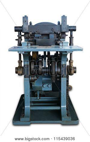 Old Machine To Print Ticket