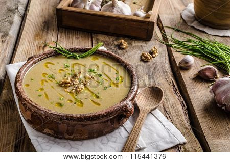Cream Soup Of Parsley Root