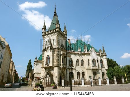 Castle In Kosice City.